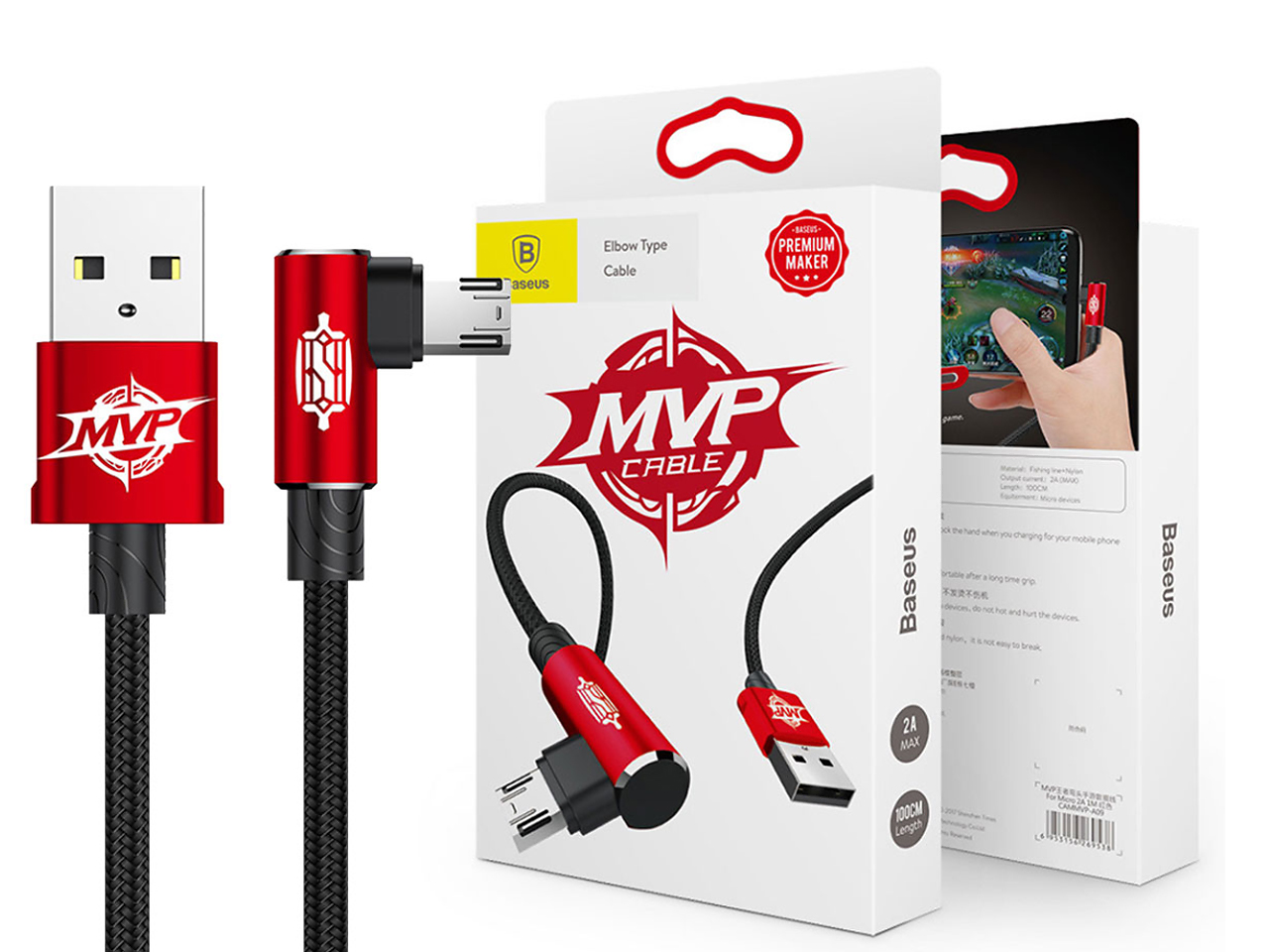 Kabel micro USB BASUES