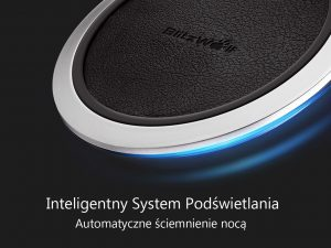 Inteligenty system podświetlania BLITZWOLF ładowarka indukcyjna